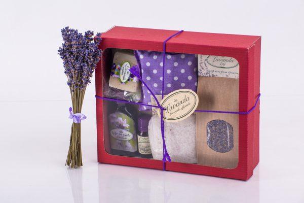 lavanda poklon kutija 2